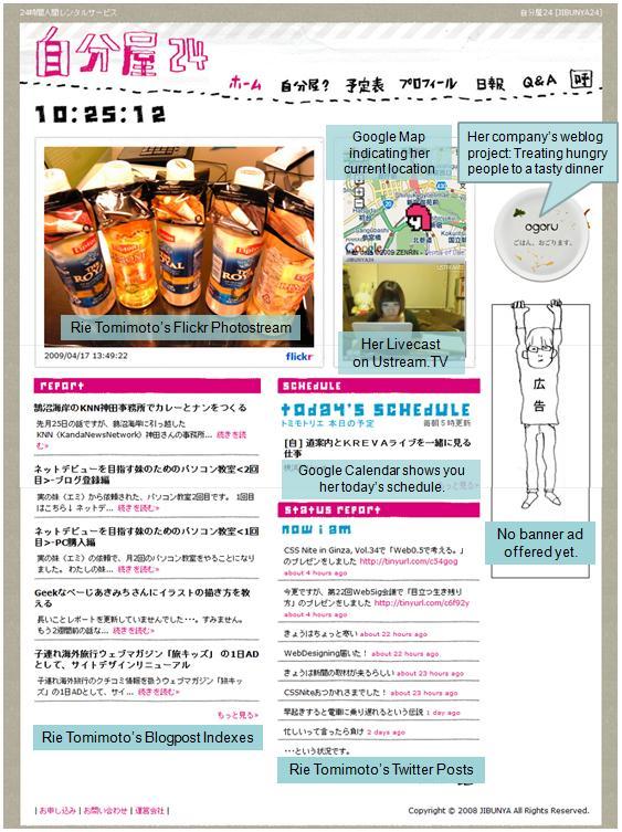 Jibunya 24's Website Image